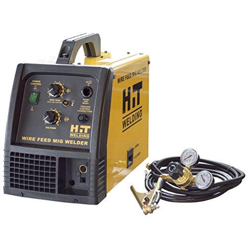 Buffalo Tools HIT140 Mig Welder 140, Yellow, Black