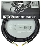 Planet Waves American Stage Guitar and Instrument Cable, 10 feet