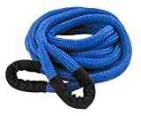 Mibro DitchPig 447051 Kinetic Energy Vehicle Recovery Double Nylon Braided Rope with Tote Bag, 1/2' x 20'
