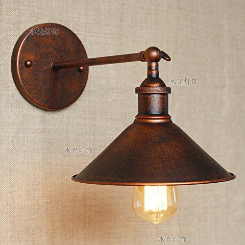 CGJDZMD Applique Murale Vintage Industrielle Applique Murale Lampe Mur Lumi/ère Chanvre Cordes E27 Socket pour Salon Chambre Seule t/ête D/écoration Luminaires Ampoules Non Inclus