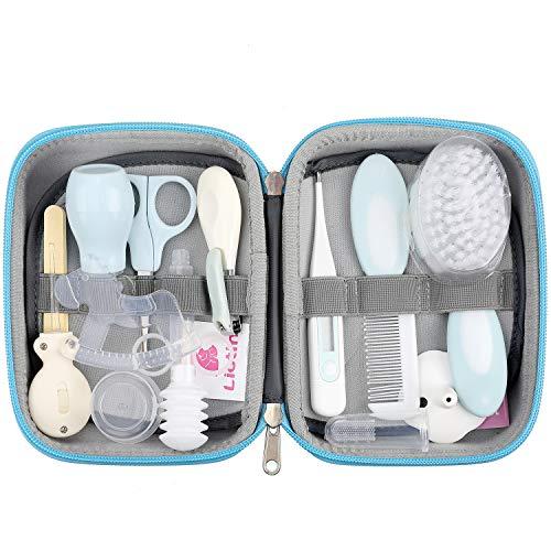 Lictin 15pcs Trousse de Soin Bébé Naissance Set de Toilette Bébé Confort sans BPA non Toxique...