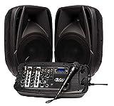 Altavoz PORTATIL INFINITON con Mesa DE Mezclas (Amplificador, Mesa de Mezclas, Microfono) (DJ-M300)