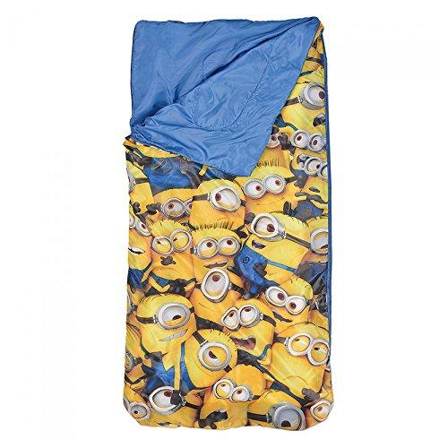 MINIONS Despicable Me Kinder Schlafsack - blau -