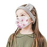 Kangrunmys_𝙈𝙖𝙨𝙘𝙖𝙧𝙞𝙡𝙡𝙖𝙨 Deshechable Niños 3 Capas Protección 𝙏𝙧𝙖𝙣𝙨𝙥𝙞𝙧𝙖𝙗𝙡𝙚,10/50 Unidades (10PCS)