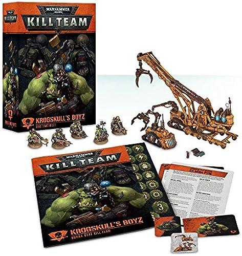 Warhammer 40k  Kill Team Krogskull's Boyz - Orks Starter Set ( Version Anglaise)