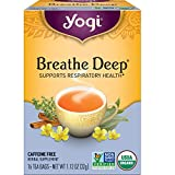 Yogi Tea - Breathe Deep (6 Pack) - Supports Respiratory Health - 96 Tea Bags Total