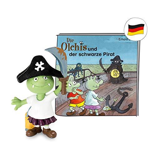 tonies Hörfiguren für Toniebox - Die Olchis - Die Olchis und der Schwarze Pirat - ca. 34 Min. - Ab 5 Jahre -DEUTSCH