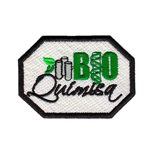 Patch Bordado - Simbolo Bioquimica AP00030-446 Termocolante Para Aplicar