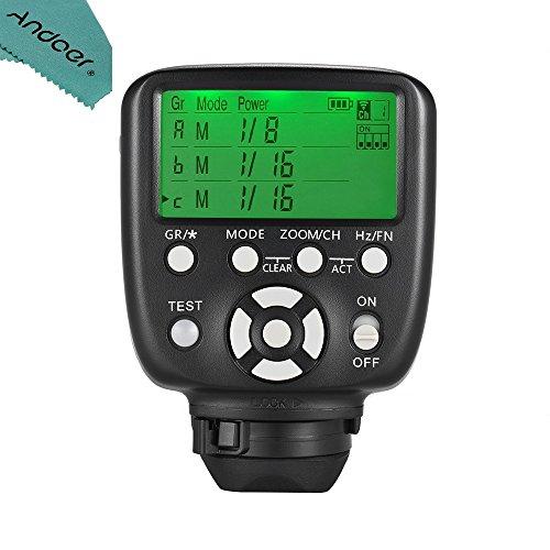 YONGNUO YN560-TX II Manual Flash Trigger Remote Controller LCD Transmitter Compatible with Canon DSLR Camera to YN560III/YN560IV/YN660/YN968N/YN860Li Speedlite RF-602/RF603/RF603 II/RF605 Receiver