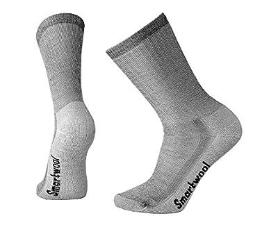 Smartwool Unisex Hike Sock Size:10-13/Shoe Size: 6-12 Crew Gray LG (Men's Shoe 9-11.5, Women's Shoe 10-12.5)