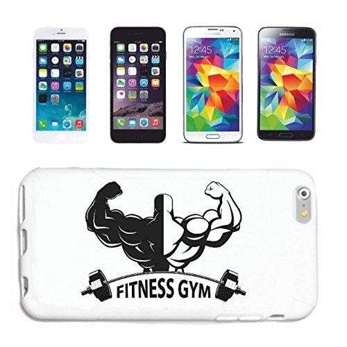 Reifen-Markt Hard Cover - Funda para teléfono móvil Compatible con Samsung Galaxy S4 i9500 Culturista con LOS Pesos Culturista Gym Peso DE FORMACIÓN Gym muskelaufb