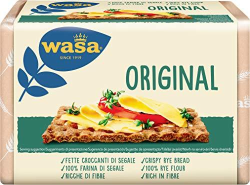 Wasa Original Fette di Pane di Segale Croccante, 275g