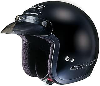Black Sz XXS HJC CS-5N Open Face Helmet Motorcycle Helmet