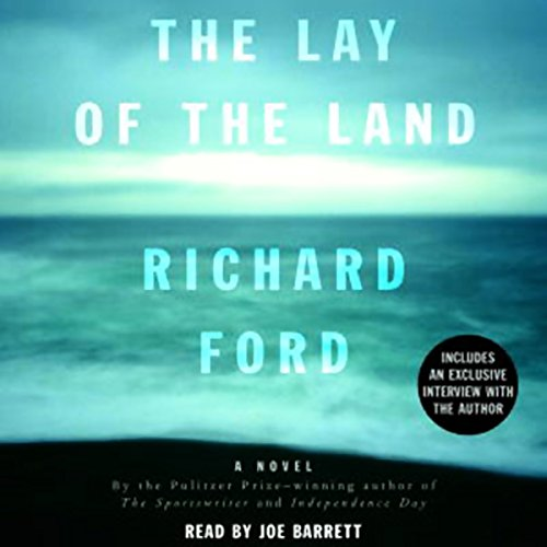 The Lay of the Land audiobook cover art