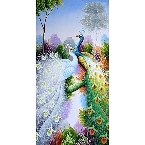 Ahomi Pauw diamant borduurwerk 5D diamant DIY schilderij ambacht huisdecoratie