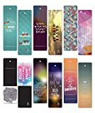 ON Sales! 60 pcs Encouraging Bookmarks Set - Colorful Cool Bookmark- Best Gift for Him and Her - Inspirational...