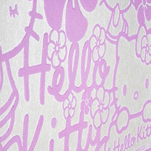 Papier peint floqué - Hello Kitty