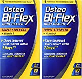 Osteo Bi-Flex Triple Strength + Vitamin D, Coated Tablets - Twin Pack 80 Count Each