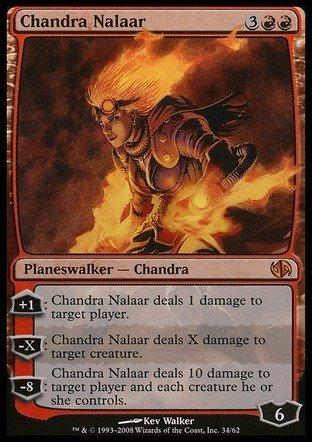 Magic The Gathering - Chandra Nalaar - Duel Decks: Jace vs Chandra