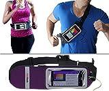 Navitech Purple Smartphone Running/Jogging Water Resistant