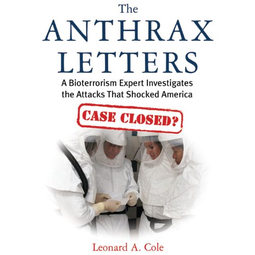 The Anthrax Letters audiobook cover art