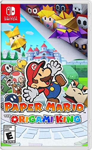 Paper Mario: The Origami King - Nintendo Switch $45.99 still havnt play it and i have it