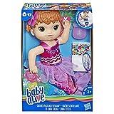 Baby Alive BA Shimmer N Splash Mermaid Red Hair, E4410ES0, Multicolour