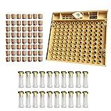 SNOWINSPRING 1 Set di Apicoltori Set Completo di Kit per Apicoltore con Sistema un Tazza per Cellula per Ape Regina
