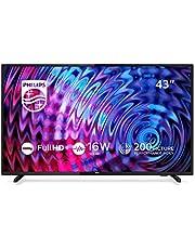 Philips 43PFS5503/12 TV 108 cm (43 inch) LED-TV (Full HD, HDMI, USB, Triple Tuner)