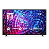 TV LED Full HD 108 cm Philips 43PFS5503 TÃlÃviseur LCD 43 pouces Tuner TNT/Câble/Satellite