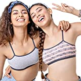 Material Composition: 95% Cotton and 5% Spandex Antimicrobial finish controls odour causing bacteria and keeps you fresh all day Trendy thin fully adjustable straps to suit all heights Seamless smooth finish for no show-through look under clothes Sof...