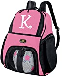 Personalized Soccer Backpack or VolleyBall Ball Carrier Bag by BROAD BAY