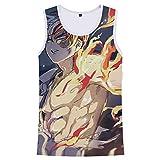 Gumstyle Anime My Hero Academia Vest Tank Tops Unisex Cosplay Sleeveless T-Shirt 12 M