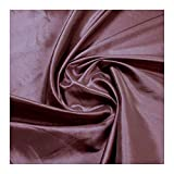 Stoff Polyester Kleidertaft altrosa Taft dezenter Glanz