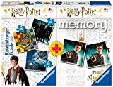 Ravensburger - Multipack memory + 3 puzzle Harry Potter (05054) , color/modelo surtido