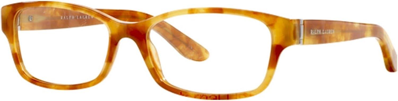 Ralph Lauren RL 6139 Women's Eyeglasses Havana Paris 54