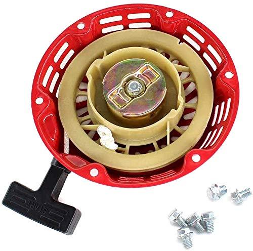 fenglei okuya Carburador Tire de arranque para Einhell BT-PG 2000/2, BT-PG 2000/3, STE2500, Kraftech KT8500 generador de energía Piezas de repuesto del motor