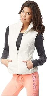 Womens Fuzzy Fz Fleece Vest