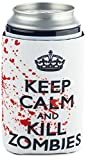 walking dead bbq - Funny Guy Mugs Keep Calm And Kill Zombies Collapsible Neoprene Can Coolie - Drink Cooler