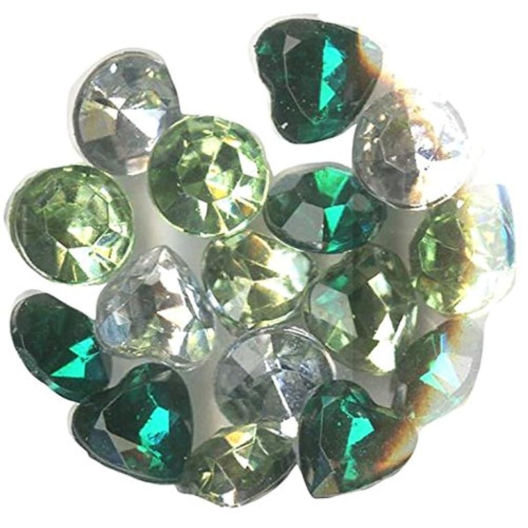 Blue Moon Beads Story Lockets Acrylic Charm, Emerald, Assortment