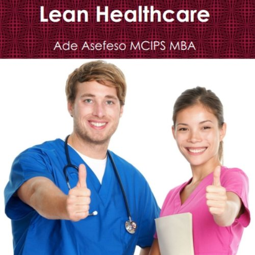 Lean Healthcare audiobook cover art