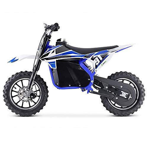 Moto Eléctrica Niños Desde 5 o 6 años | Minimoto Eléctrica Azul...