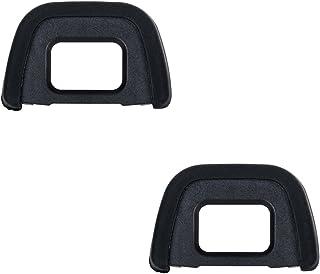JJC Visor Ocular Eyecup para Nikon D750, D610, D600, D300s, D300, D200, D100, D90, D80, D70S, D70, D60, D7100, D7000, D510...