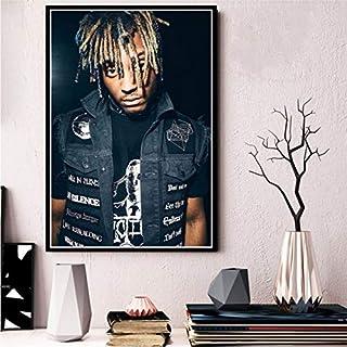 NOVELOVE Cartel e Impresiones Jugo WRLD Death Race For Love Rap Music Star Album Arte Pinturas de Lienzo Cuadros de Pared Decoración para el hogar sin Marco 30 * 42 cm 8