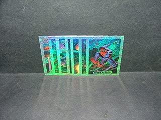 7 of 10 Marvel Holofoil Cards #s 1-6, 8 Capt America, Carnage, Spider-Man, Hulk