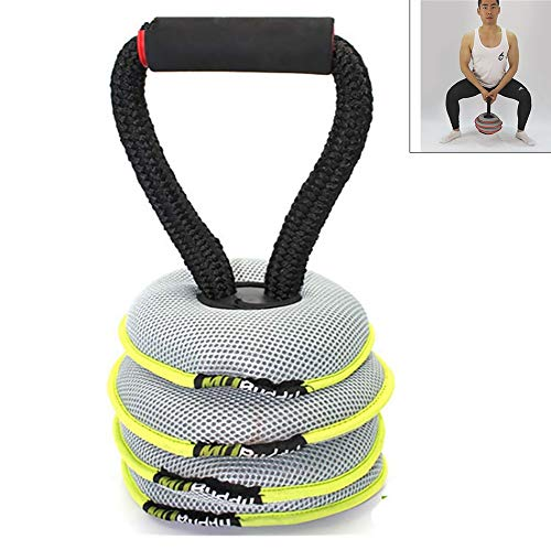 Yajun Kettlebells Weight Lifting Set Einstellbares Gewicht Mehrzweck Hantel Home Gym Fitness Geeignet für Anfänger 20LB