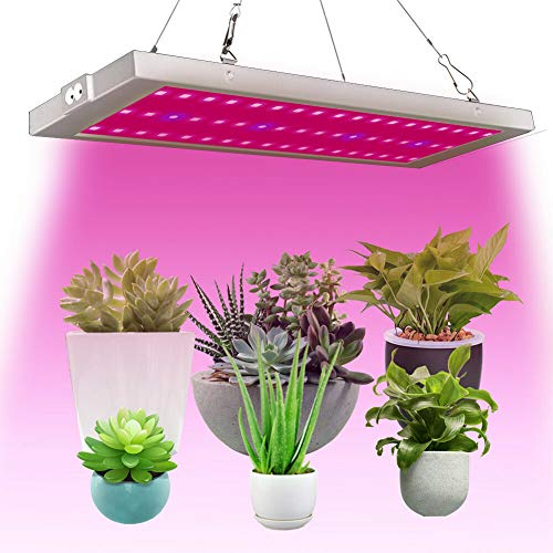 300W 54 LED Grow Lights, Full Spectrum Little Solid Grow Lamp with IR & UV LED Plant Lights for Indoor (Space-Saving) Plants,Micro Greens,Clones,Succulents,Seedlings