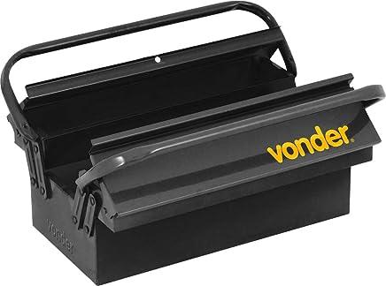 Caixa Metálica para Ferramentas, com 3 Gavetas, 40 x 19 x 16 cm, Vonder VDO2587