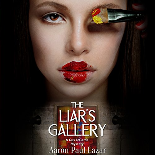 The Liar's Gallery audiobook cover art