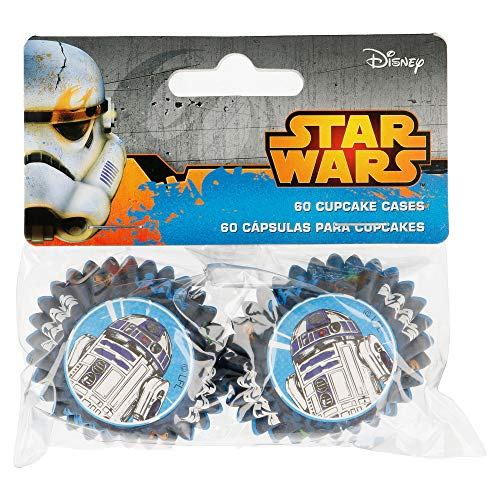 Disney - Mini Caissettes à Cupcake Star Wars set/60 Disney
